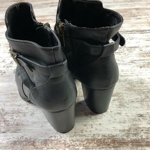 Kenneth Cole Reaction Shoes - Kenneth Cole Reaction Strappy Heeled Ankle Boots